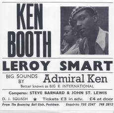 Leroy Smart/Dillinger/Ken Boothe/Delroy Wilson